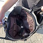 Женская сумка c косметичкой черная  (199), фото 6