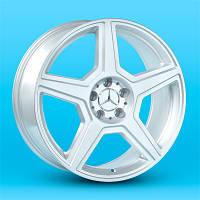 Replica Mercedes (A-F99504) 8.5x19 5x112 ET35 DIA 66.6 silver