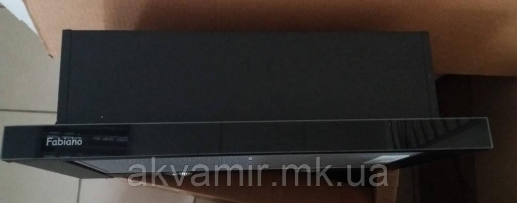 Витяжка для кухні Fabiano Slim Lux 60 Black Glass