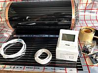 """11 м2. Инфракрасный теплый пол """"RexVa"""" (Корея), комплект с программируемым  терморегулятором Menred E51"""