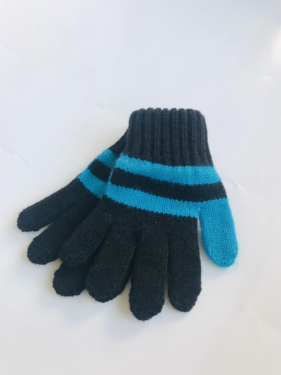 Детские перчатки для девочки Margot Польша piko girl малиновый с белым