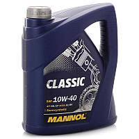 Масло моторное полусинтетическое  MANNOL Classic 10w40 5л