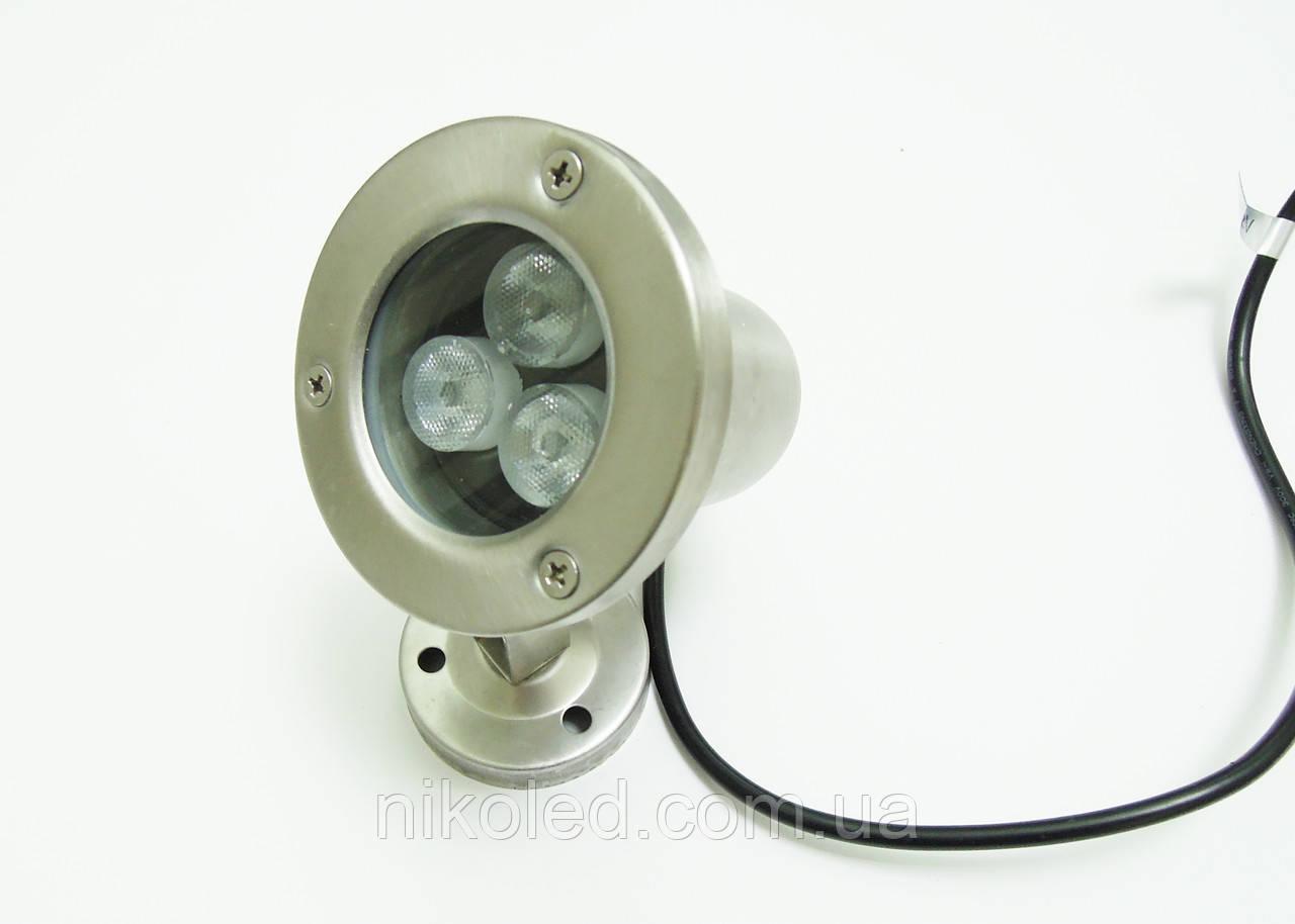 Светодиодный подводный прожектор LED 1803 RGB без контроллера