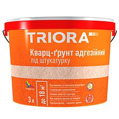 Кварц-грунт под штукатурку Triora 3л