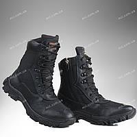 Берцы демисезонные / военная, тактическая обувь АЛЬФА (черный)