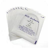 Дуга ортодонтическая для брекетов никель-титановая NiTi Archwire Super Elastic Lower 018