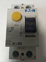 Устройство защитного отключения (УЗО) EATON PF4 2P 25A 30мА, фото 1