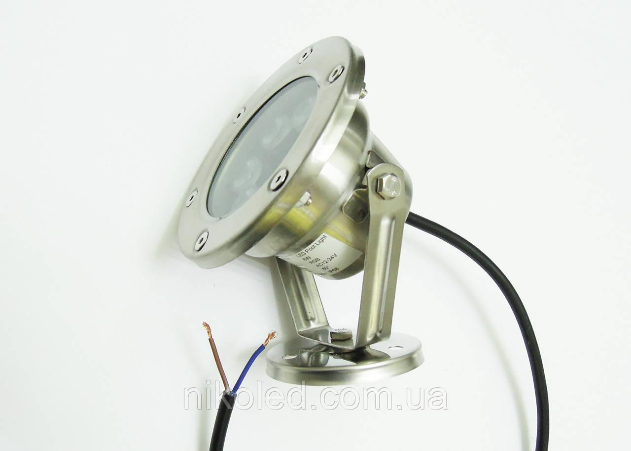 Светодиодный подводный прожектор LED 2006 RGB с контроллером