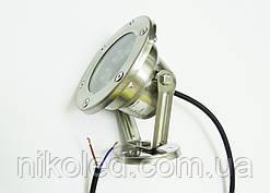 Светодиодный подводный прожектор LED 6 Вт RGB с контроллером
