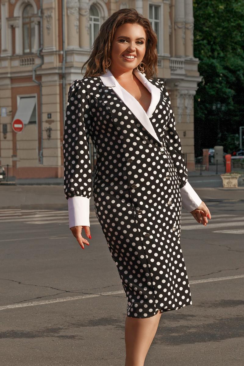 Платье LiLove 711-2 56-58 черный