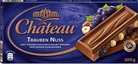 Шоколад молочный Chateau Trauben Nuss(изюм,орех) 200г.