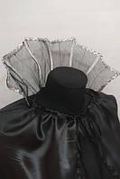 Воротник для костюма Вампир, Дракула, Ведьма, Кощей, Малефисента для Хэллоуин, черный