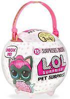 Большой шар ЛОЛ Питомец BIG LOL Китти-перчинка L.O.L. SURPRISE PETS любимец 566625