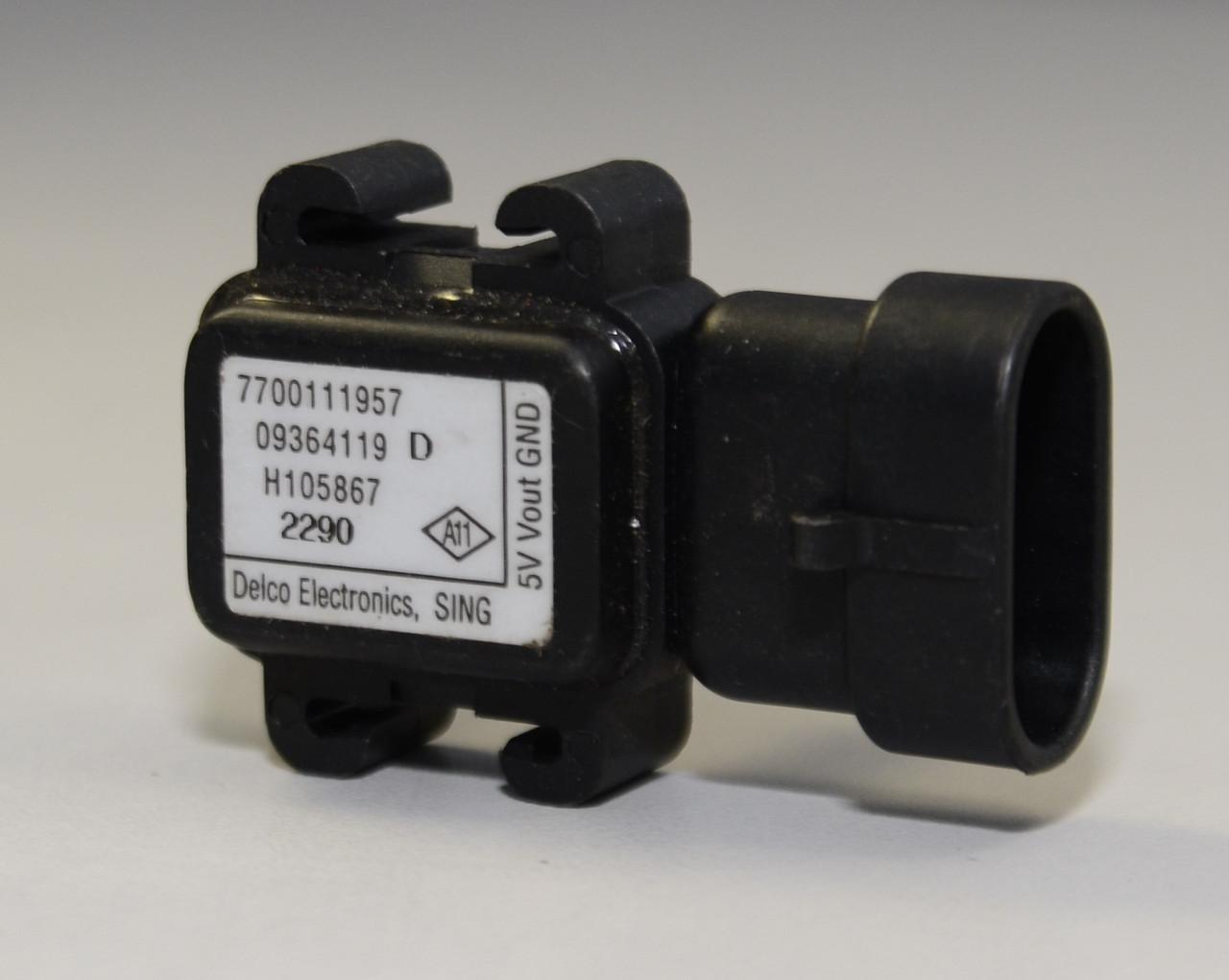 Датчик регулировки давления воздуха на Renault Trafic II 2001->2003 1.9dCi — Renault (Оригинал) - 7700111957