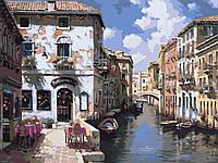 Картина по номерам Венецианский пейзаж (BK-GX6372) 40 х 50 см Brushme [Без коробки]