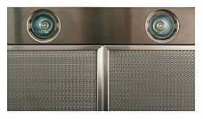 Кухонная вытяжка Eleyus Кварта LED H 800 / 60 (нержавейка), фото 3