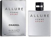 Мужской туалетная вода Chanel Allure Homme Sport 100мл (Шанель Аллюр Хомм Спорт)Высокое Качество/