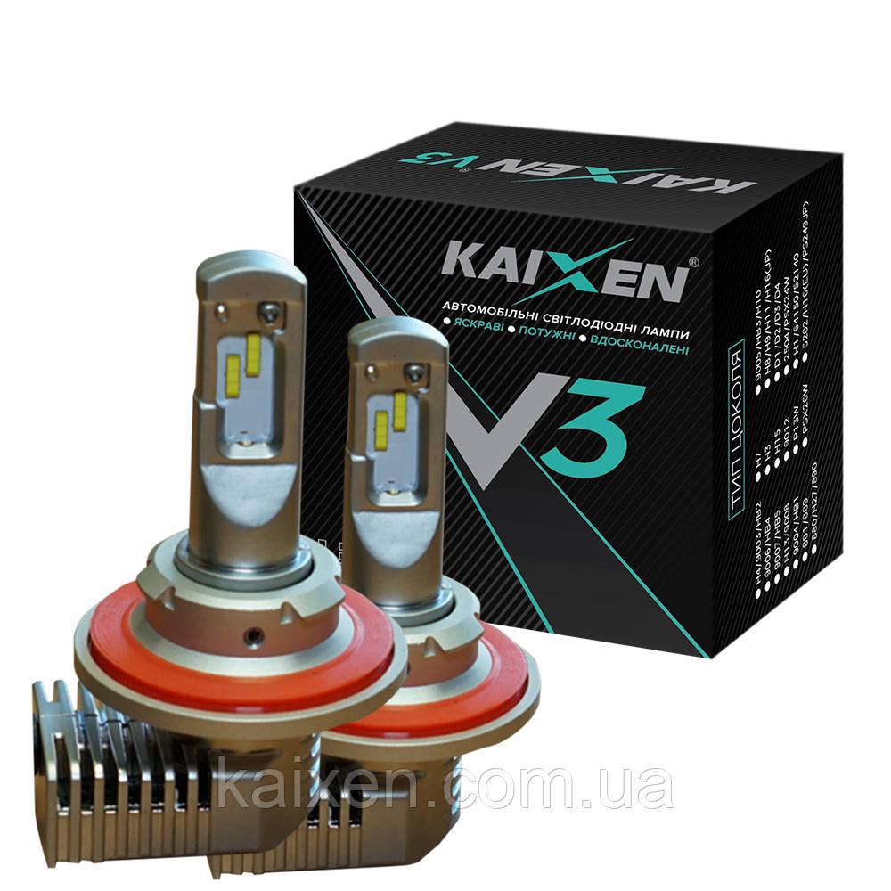 Светодиодные лампы H13 KAIXEN V3 6000K