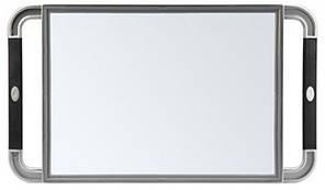 Зеркало с ручками Sibel 23х40 см серое 0130991-32