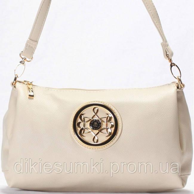 4ebf56392cf1 Женская сумка - клатчик Gilda Tohetti бежевого цвета - Интернет магазин -  Дикие сумки в Черноморске