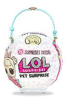 Большой шар ЛОЛ Питомец BIG LOL БАННИ L.O.L. SURPRISE PETS любимец 566649