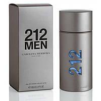 Мужская туалетная вода Carolina Herrera 212 Men 100ml(Каролина Эррера 212 Мен)/Высокое Качество/