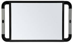Зеркало с ручками Sibel 23х40 см черное 0130991-02