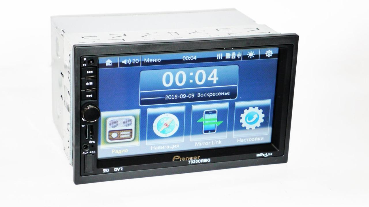 2din Pioneer 7020 CRBG GPS Автомагнитола USB+SD+Bluetooth