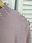 Джемпер с декоративным жемчугом Lurex (932), фото 8