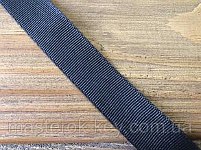 Тесьма окантовочная (линия) 20мм цвет Черный