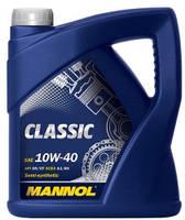 Масло моторное полусинтетическое  MANNOL Classic 10w40 4л