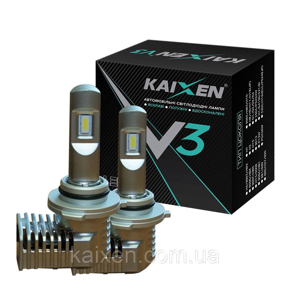 Светодиодные лампы HB3/9005 KAIXEN V3 6000K