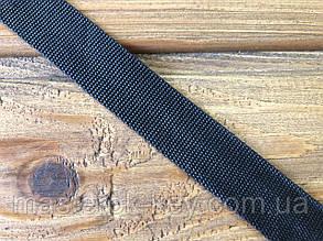 Тесьма окантовочная (соты) 20мм цвет Черный