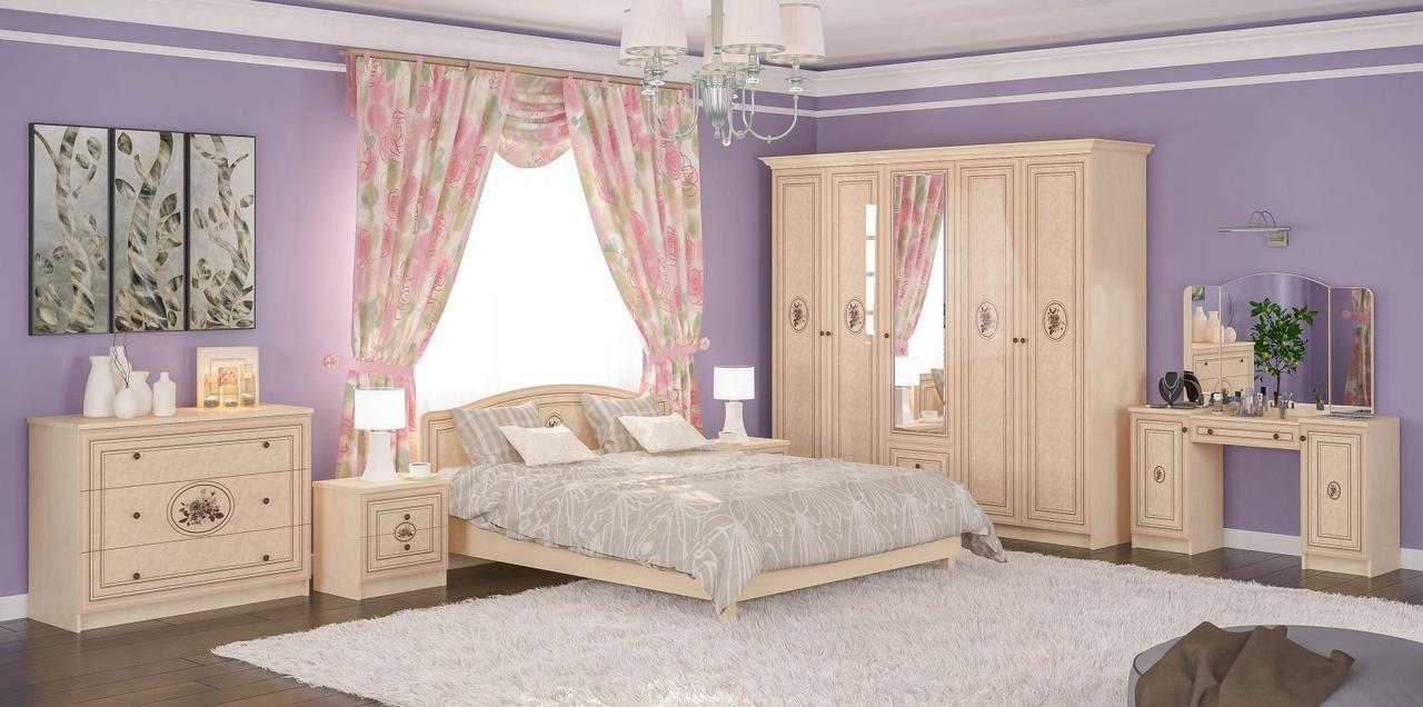 Спальня Мебель-Сервис «Флорис»