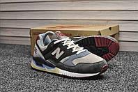 Кроссовки New Balance 530 мужские, черные, в стиле Нью Баланс. Натуральная замша, прошиты. Код TD-8888