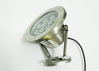 Светодиодный подводный прожектор LED 12 Вт RGB с контроллером, фото 1