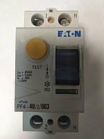 Устройство защитного отключения (УЗО) EATON PF4 2P 40A 30мА
