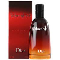 Мужская туалетная вода Christian Dior Fahrenheit 100ml (Кристиан Диор Фаренгейт)Высокое Качество