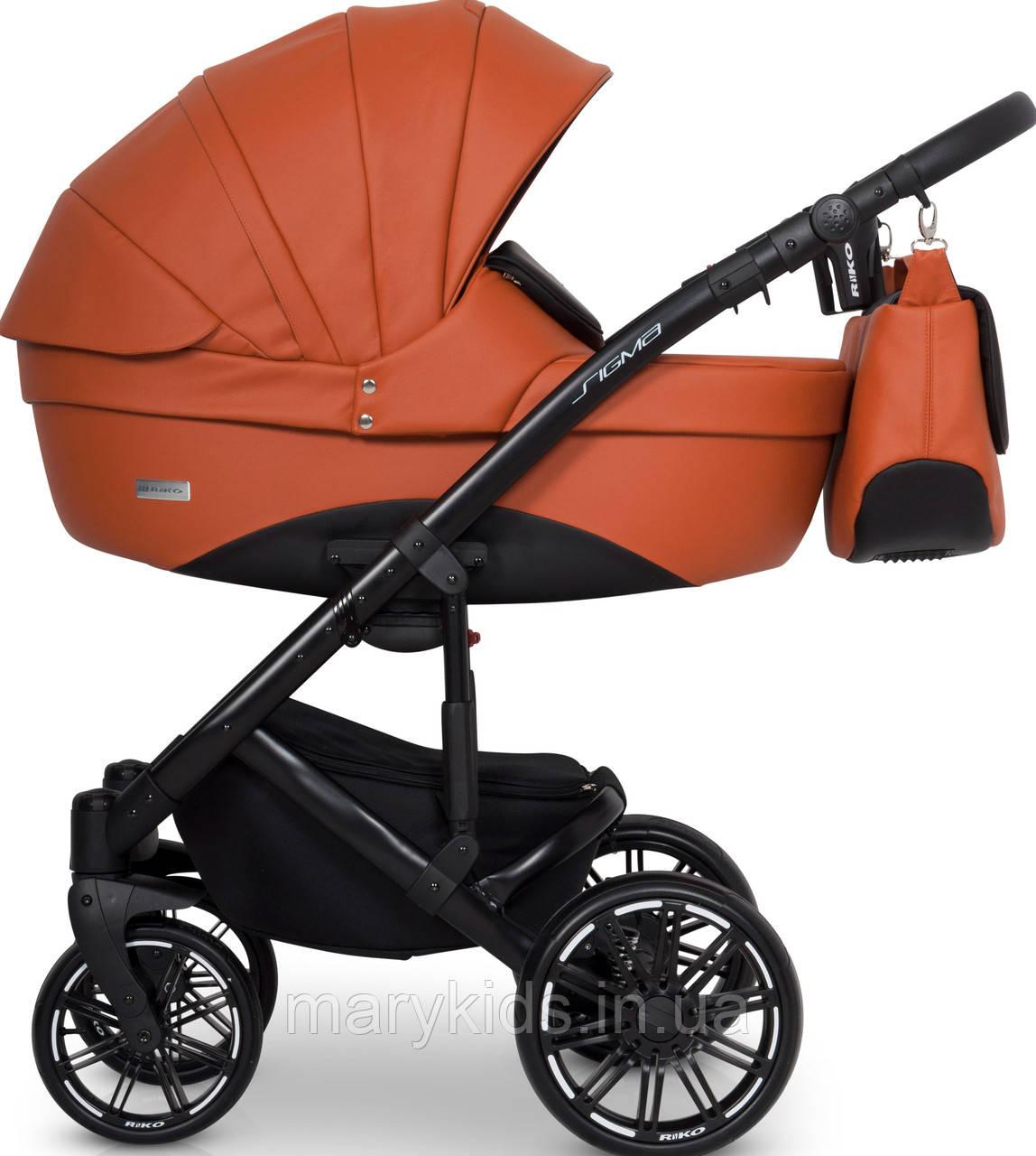 Детская универсальная коляска 2 в 1 Riko Sigma 04 Cognac