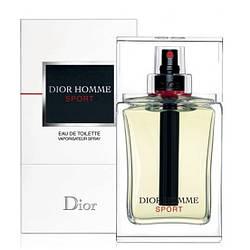 Мужская туалетная вода Christian Dior Sport Homme 100ml (Кристиан Диор Спорт Хом) реплика