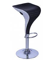 Барный стул высокий хокер Амур 2 черный