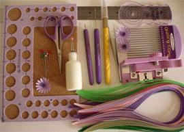 Инструменты, бумага для квиллинга