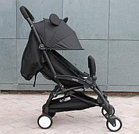 Детская коляска YOYA 175 A+ Микки оксфорд черная рама