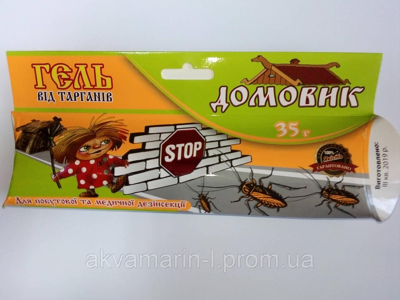 Шприц-гель Домовик від тарганів 35г