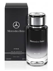 Мужская парфюмированная вода Mercedes-Benz For Men Intense 120ml (Мерседес Бенс Интенс)Высокое Качество