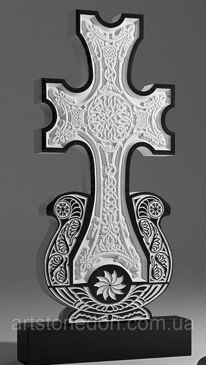 Армянский крест Хачкар из гранита