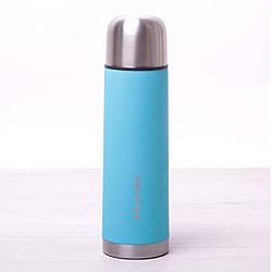 Термос для напитков Kamille 500 мл из нержавеющей стали, питьевой термос для чая и кофе