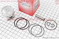 Поршень, кольца, палец к-кт Honda DIO AF56 38мм +0,25 (палец 10мм) на скутер