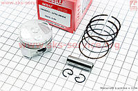 Поршень, кольца, палец к-кт Honda DIO AF56 38мм +0,50 (палец 10мм) на скутер