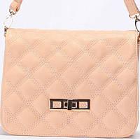 Женская сумка - клатчик Gilda Tohetti  персикового цвета